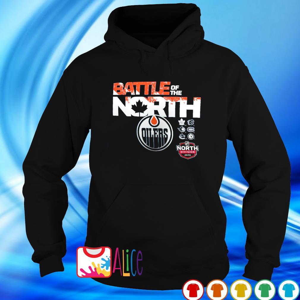 Battle of the north Edmonton Oilers s hoodie