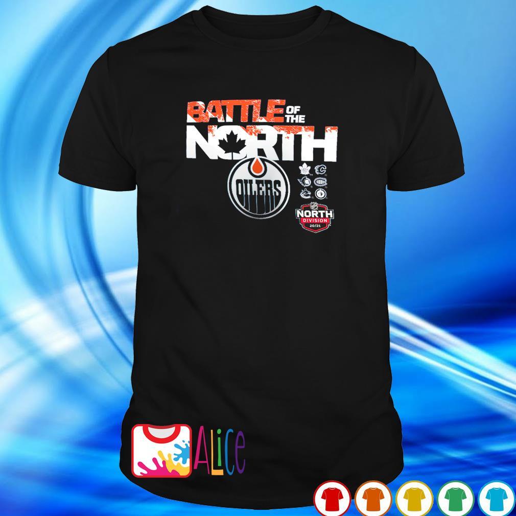 Battle of the north Edmonton Oilers shirt