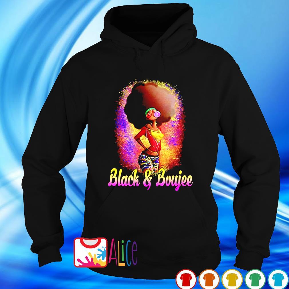 Black women Black and Boujee s hoodie