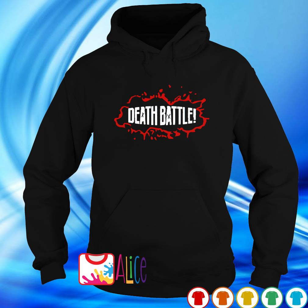 Death battle s hoodie