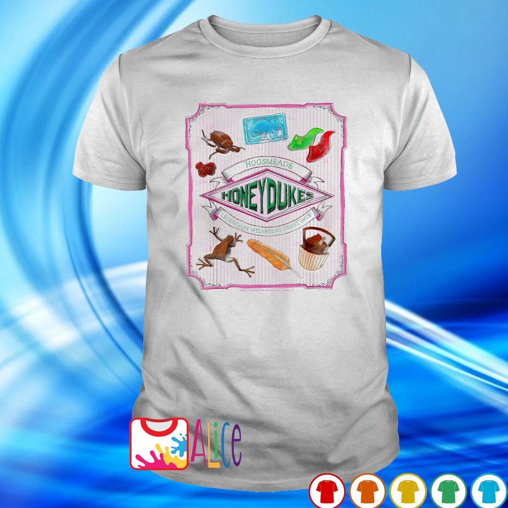 Hogsmeade honedukes legendary wizarding sweet shop Harry Potter shirt