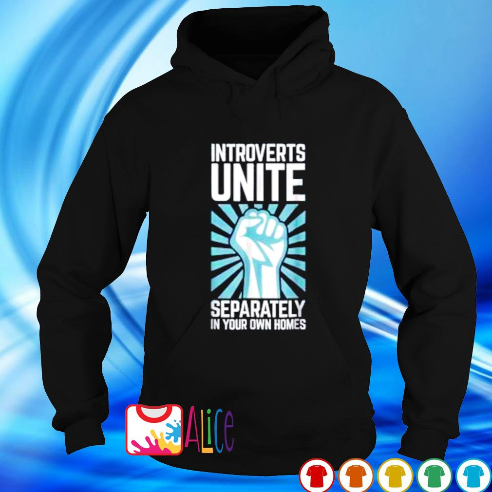 Introverts unite separately in your homes s hoodie