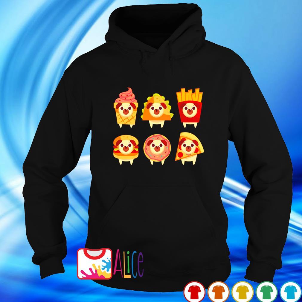 Pug mashup fastfood s hoodie