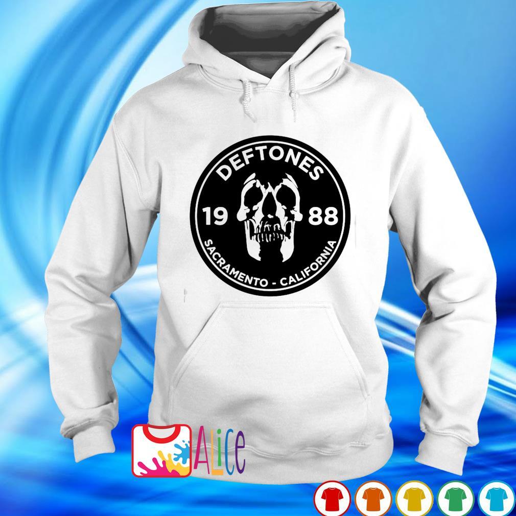 Skull Deftones Sacramento California s hoodie