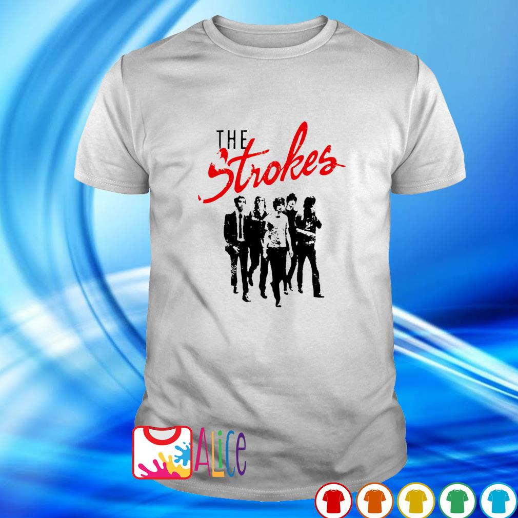 The Strokes band shirt