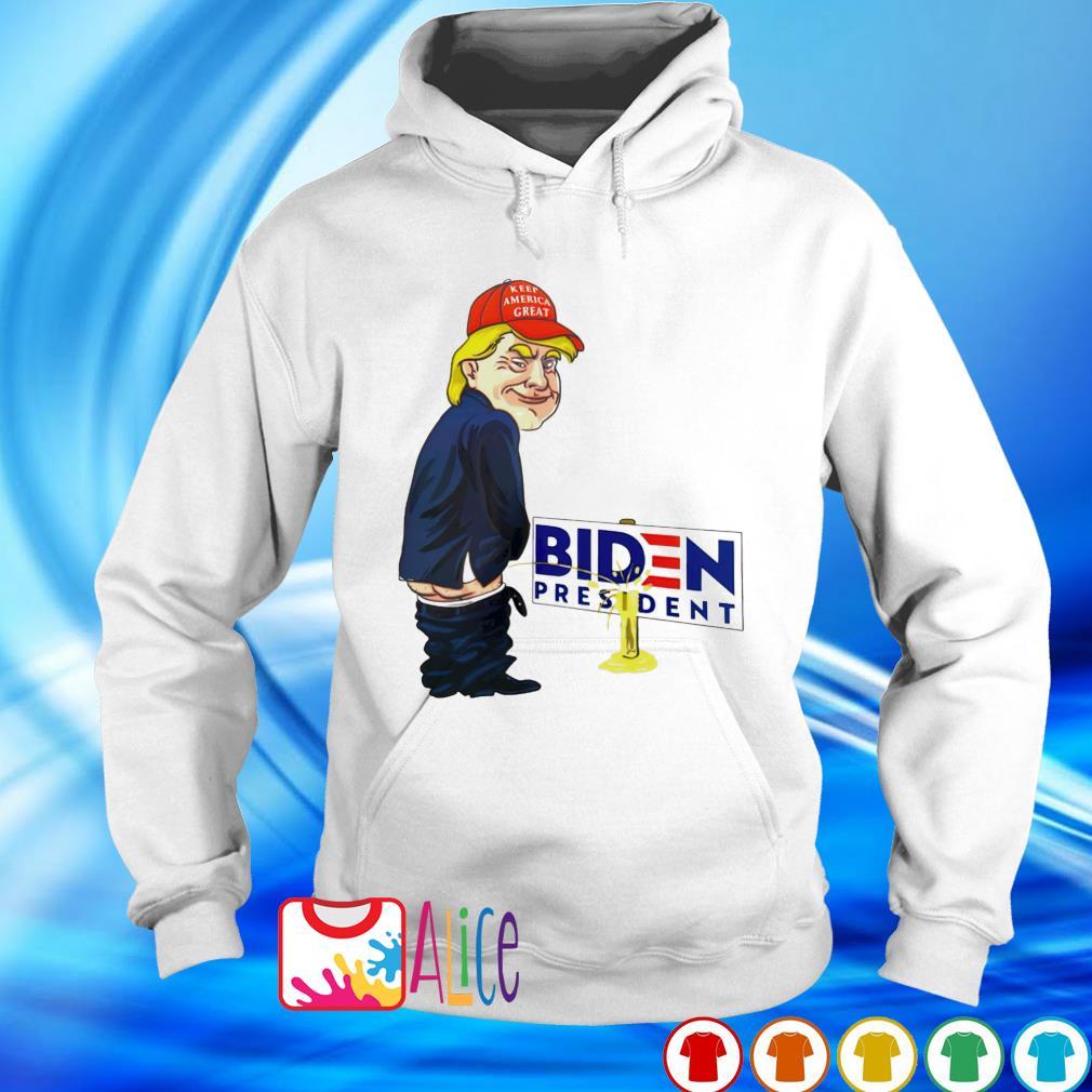 Trump urination Biden president s hoodie