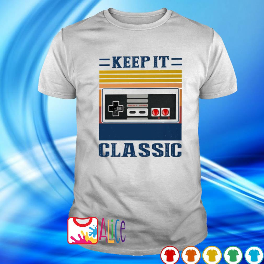 Cassette keep it classic vintage shirt