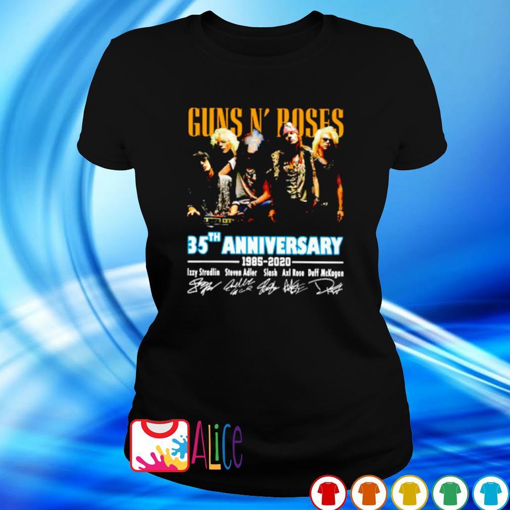Gun N' Roses 35th Anniversary 1985 2020 signature s 2
