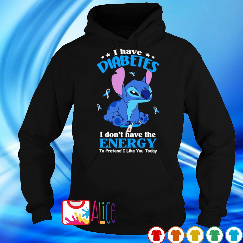Stitch I have diabetes I don't have the energy s 5
