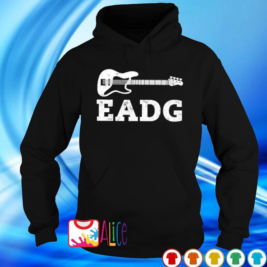 Bass guitar eadg s hoodie