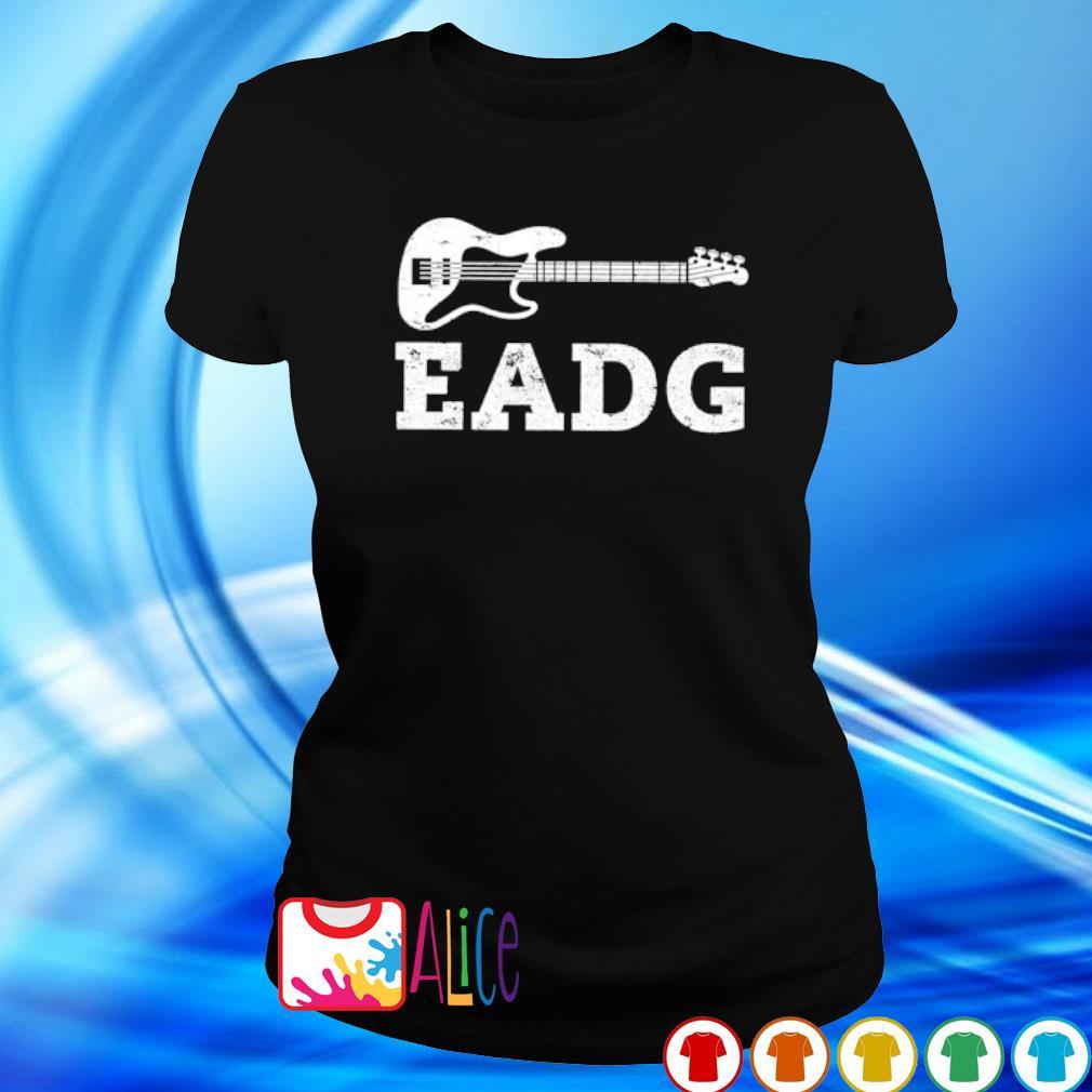 Bass guitar eadg s ladies tee