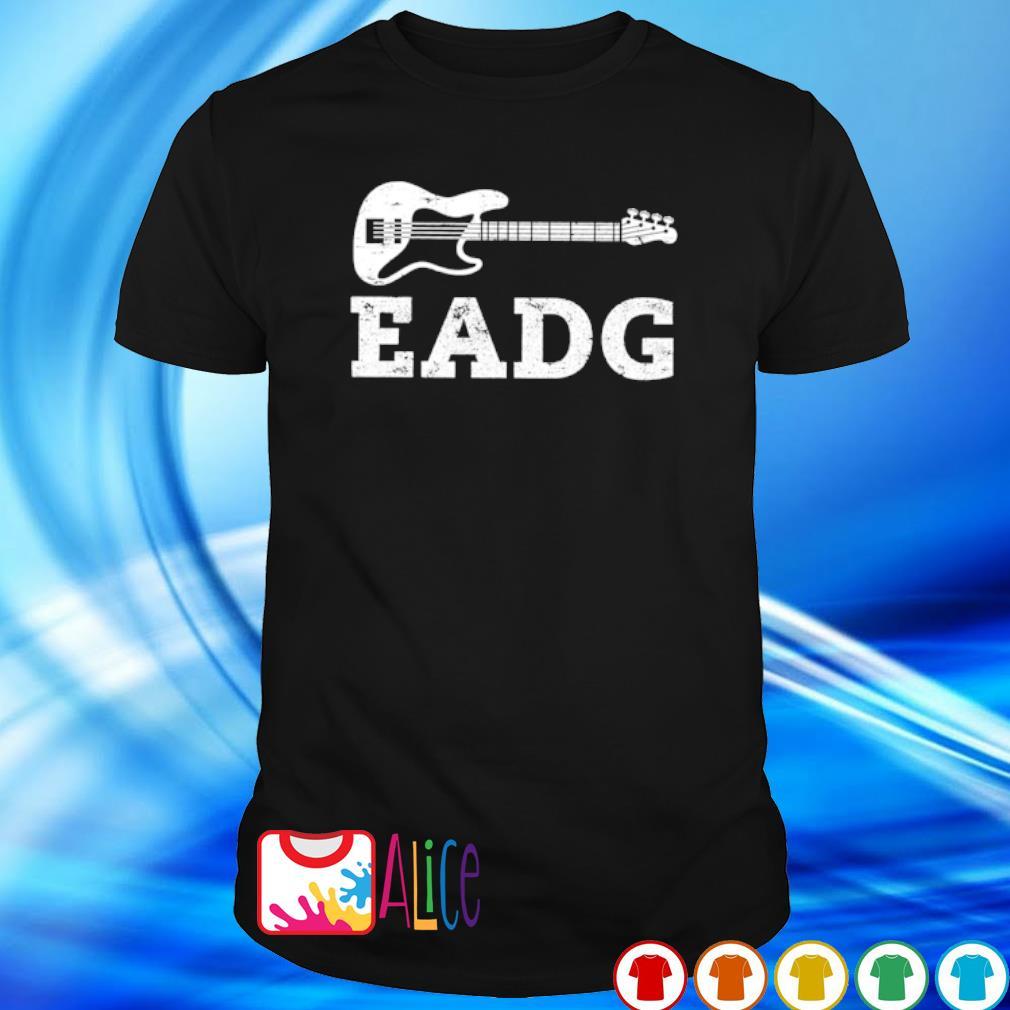 Bass guitar eadg shirt