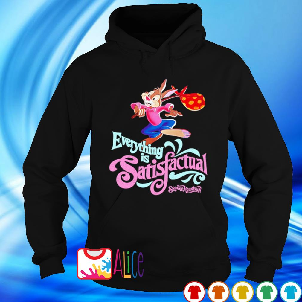 Br'er Rabbit Everything is Satisfactual Splash Mountain s hoodie