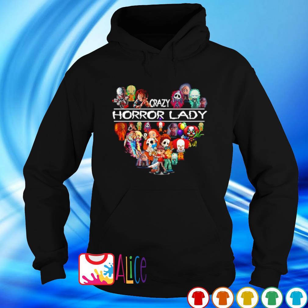 Crazy Horror lady s hoodie