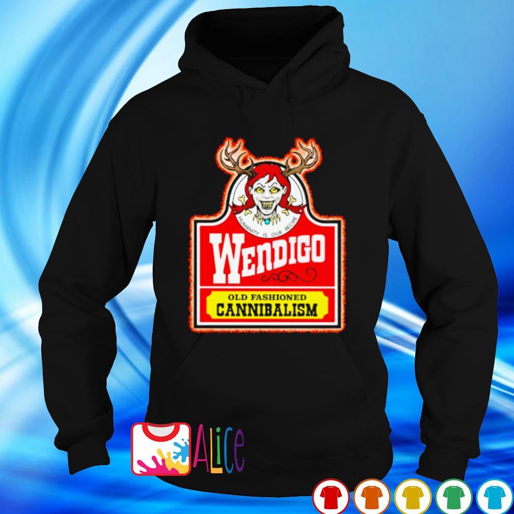 Wendigo old fashioned cannibalism s hoodie