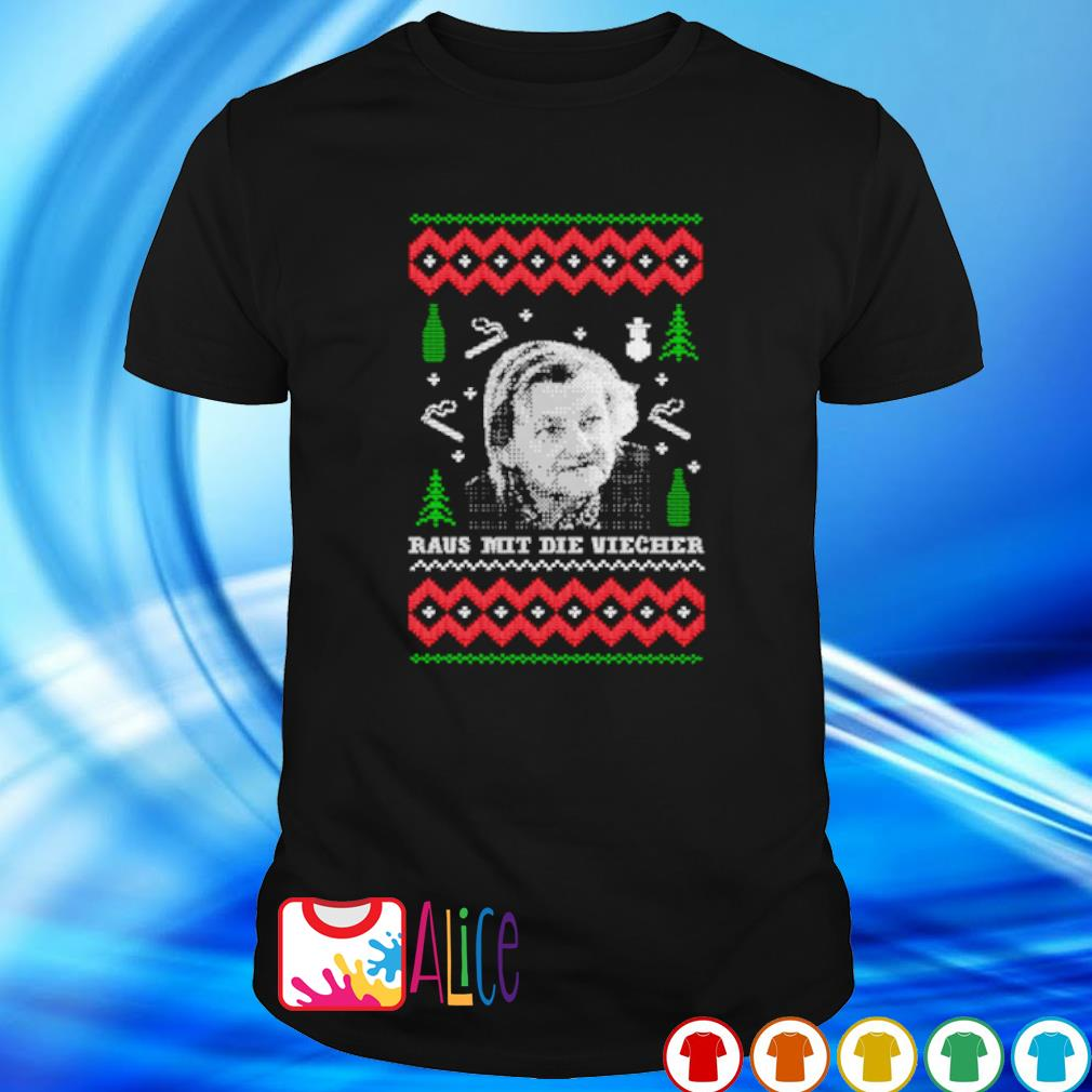 Bucktee.com Familie Ritter Raus mit die Viecher Christmas shirt