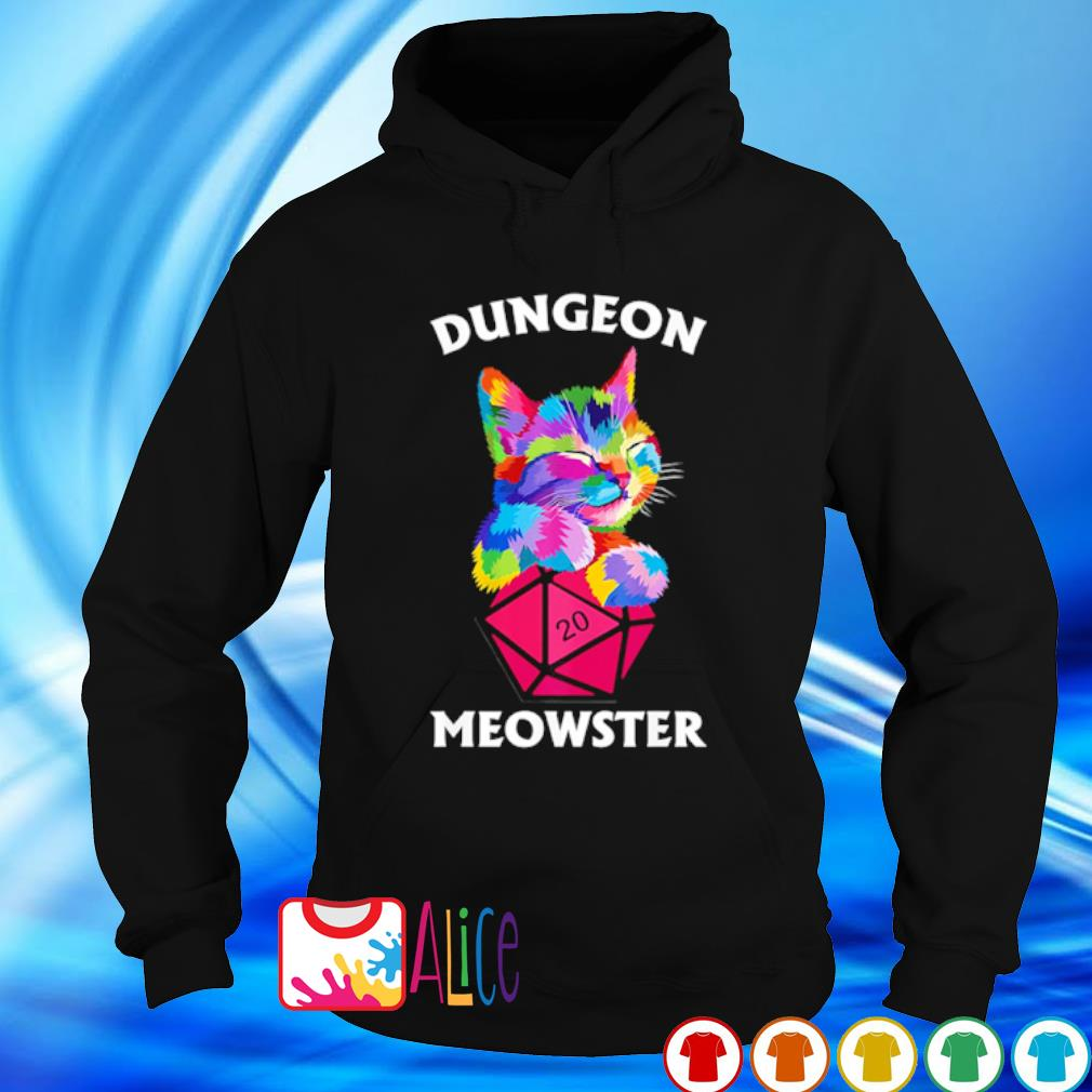 Cat Dungeon meowster s hoodie