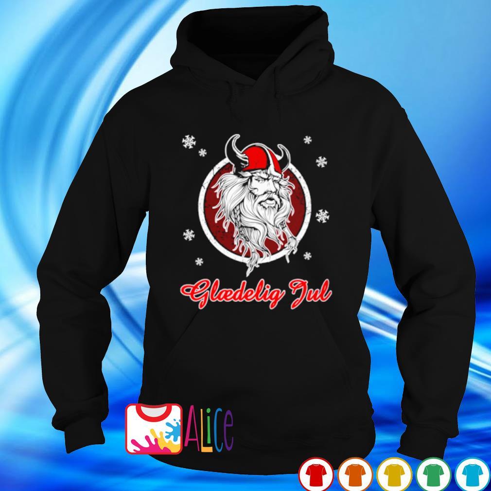 Danish Vikings glaedelig jul s hoodie