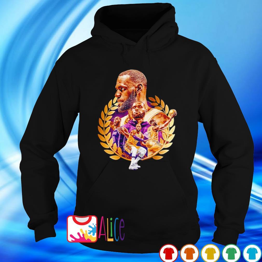 Los Angeles Lakers Lebron James is the King s hoodie