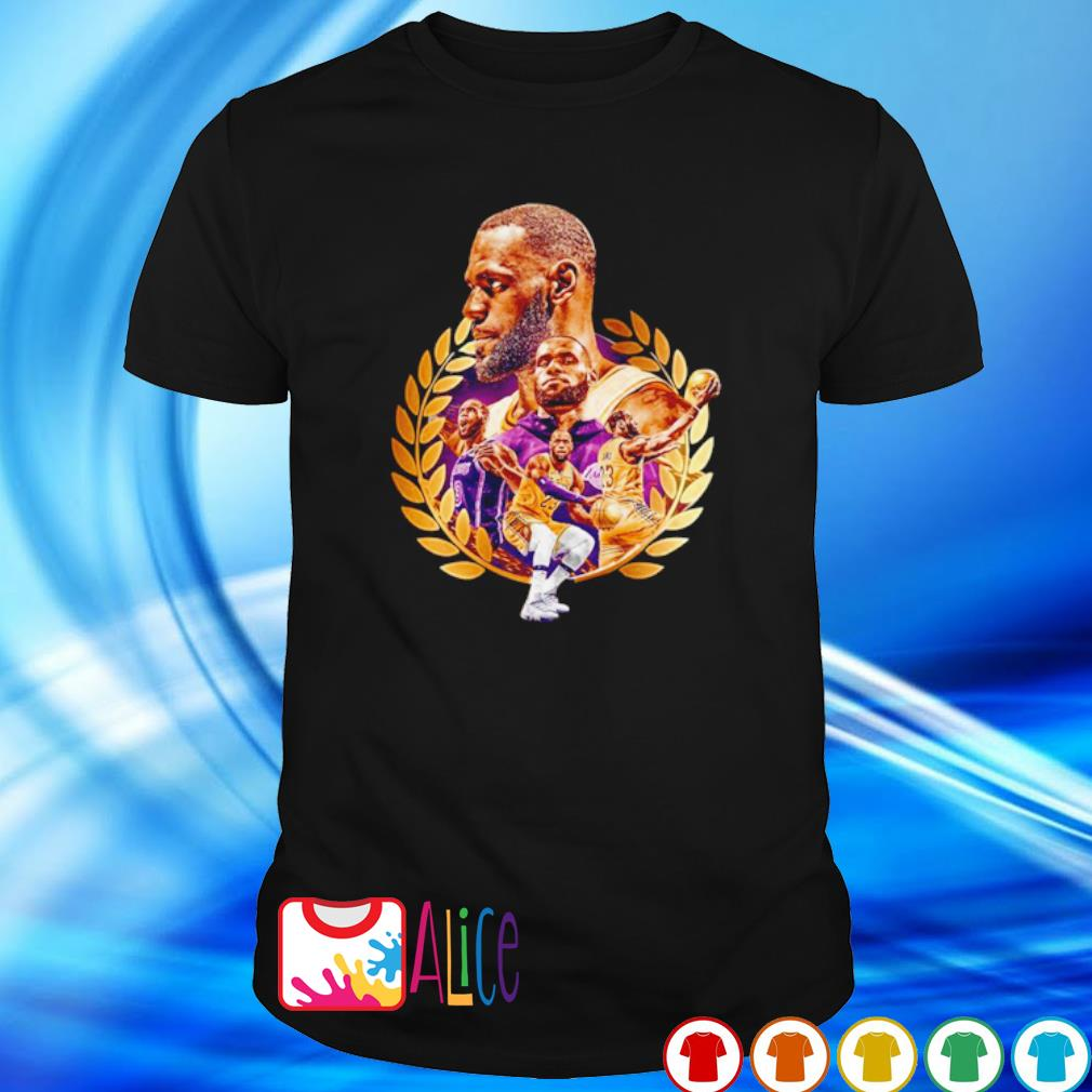 Los Angeles Lakers Lebron James is the King shirt