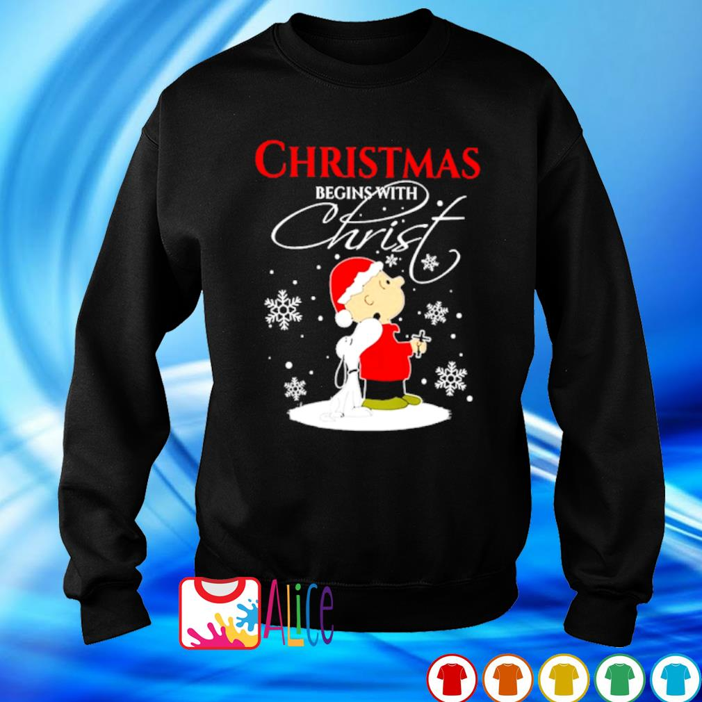 Snoopy and Charlie Brown Christmas begins with Christ s sweater