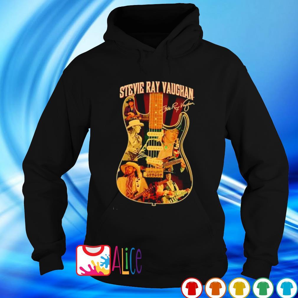 Stevie Ray Vaughan guitar signature s hoodie