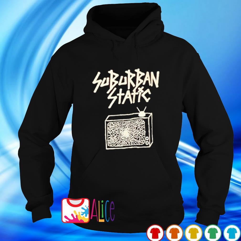 Suburban static s hoodie
