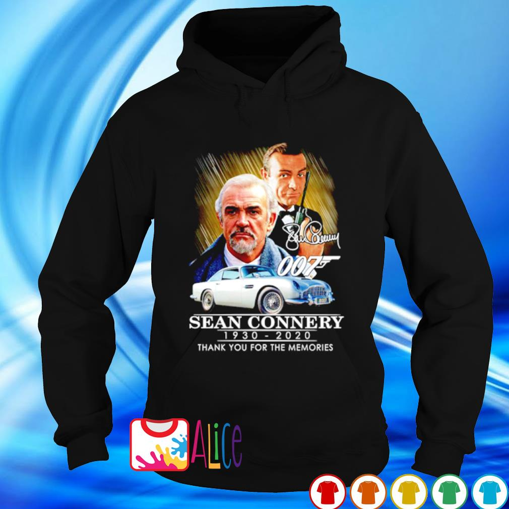 007 Sean Connery 1930 2020 thank you for the memories s hoodie