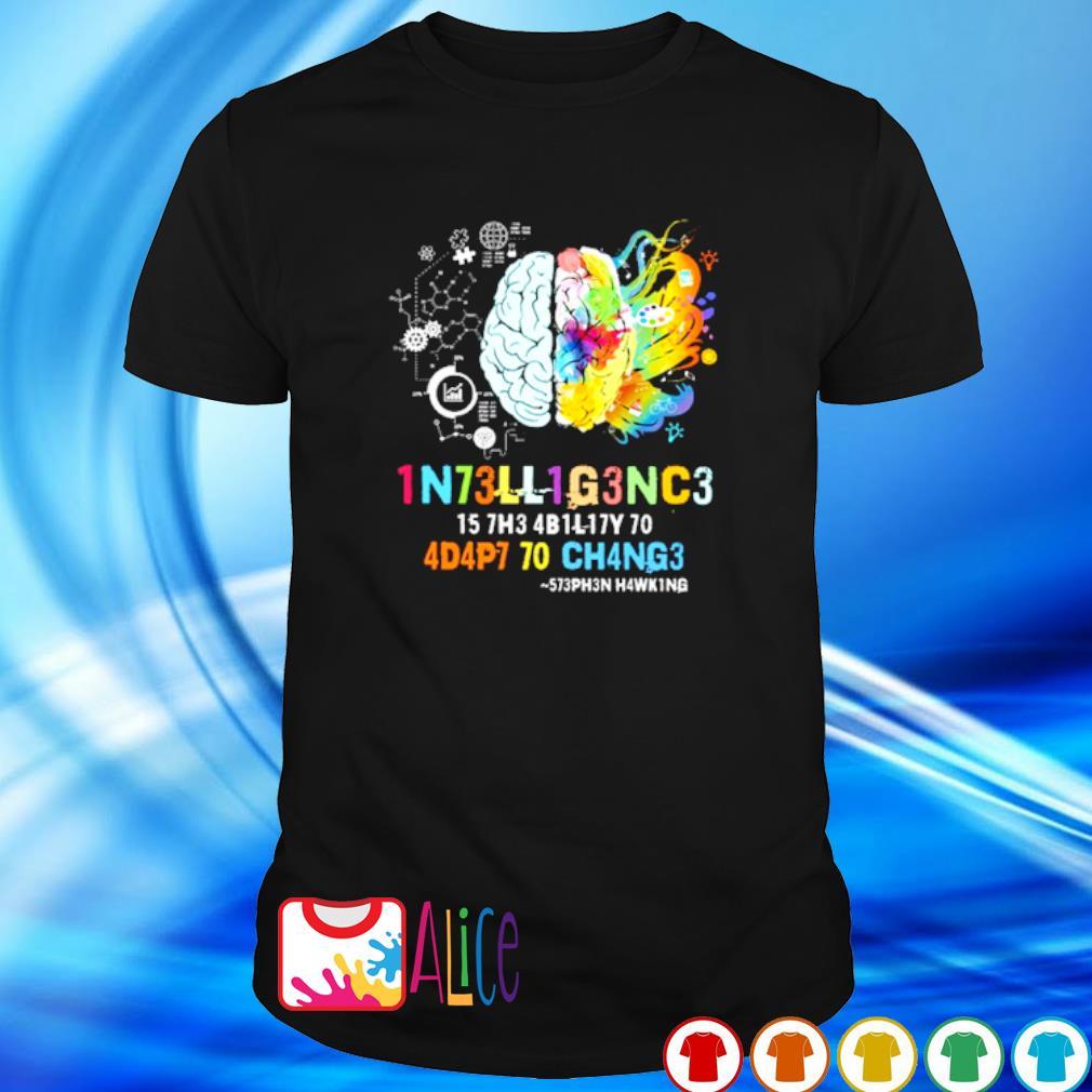 1N73LL1G3NC3 15 7H3 4B1L17Y 50 shirt