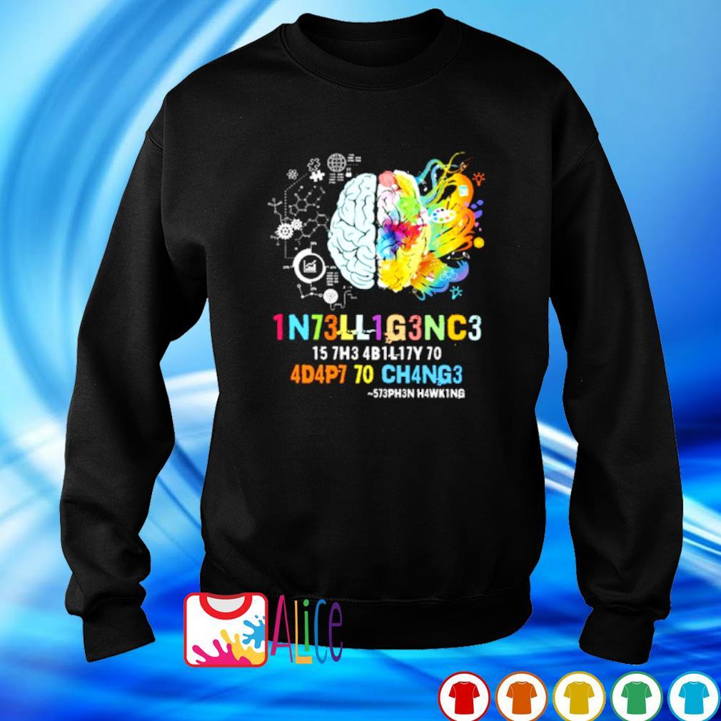 1N73LL1G3NC3 15 7H3 4B1L17Y 50 s sweater