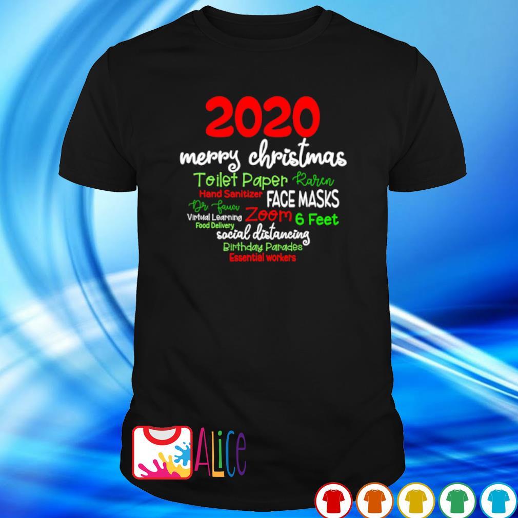 2020 merry Christmas toilet paper Karen essential workers shirt