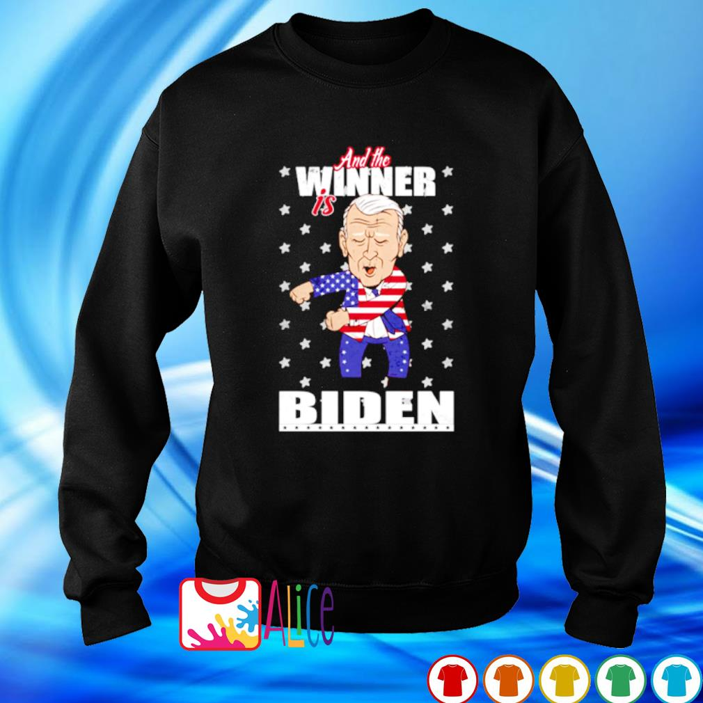 And the winner is Biden election victory s sweater