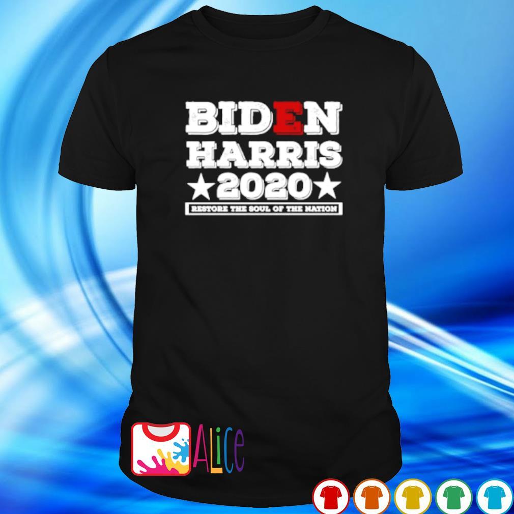 Biden Harris 2020 restore the soul of the nation shirt