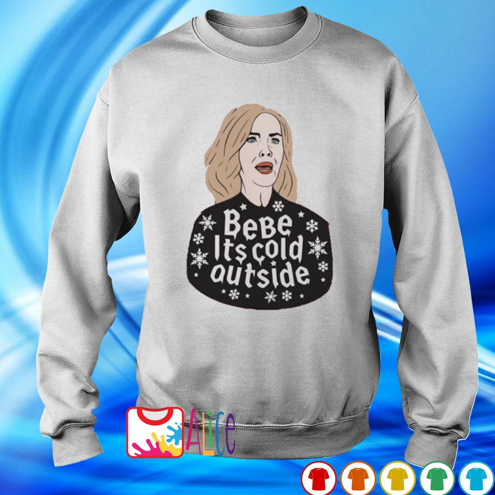 Moira Rose bebe it's cold outside Christmas s sweater