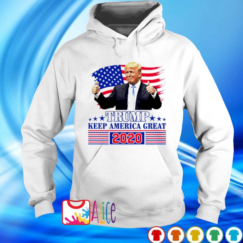 Trump keep America great 2020 s hoodie