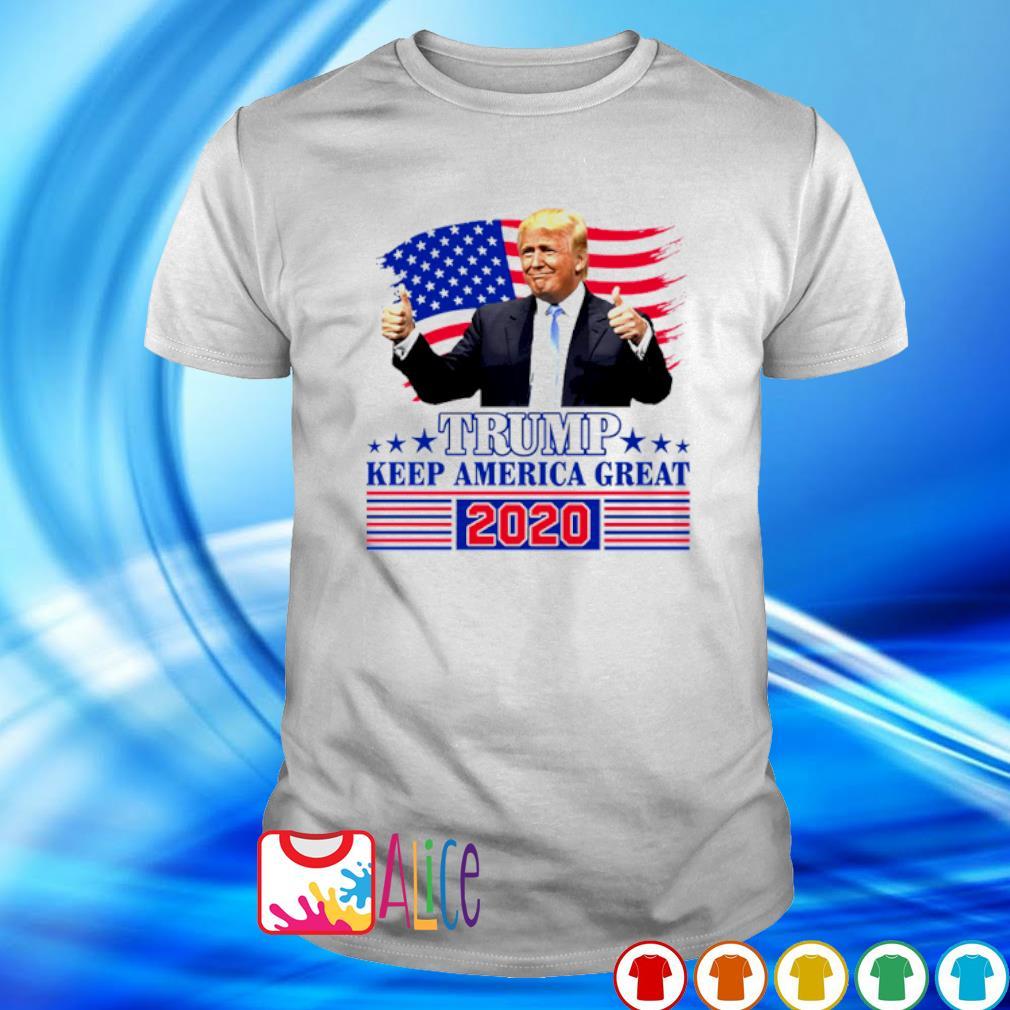 Trump keep America great 2020 shirt