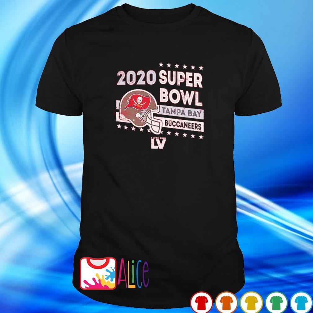 2020 super bowl Tampa Bay Buccaneers champions shirt