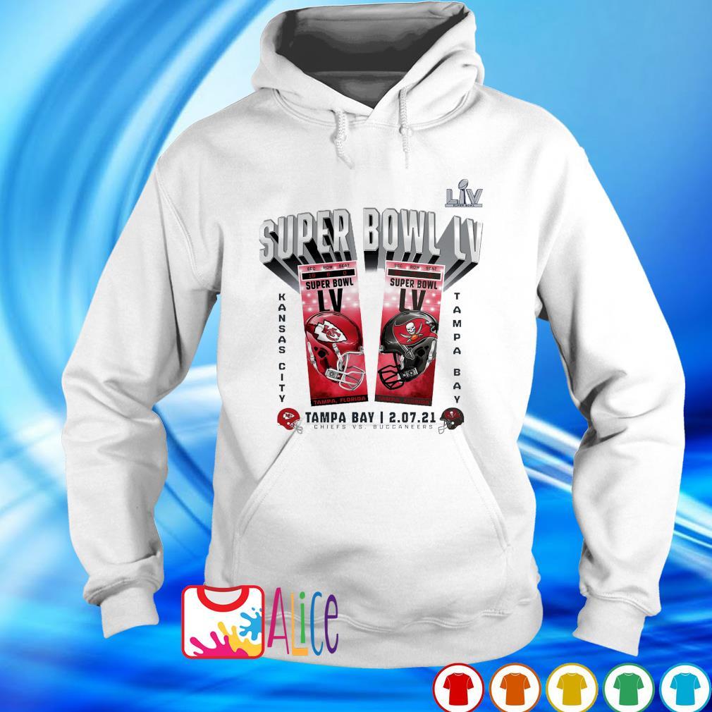 Buccaneers champions Super Bowl LIV Chiefs vs Buccaneers 2.07.21 s hoodie