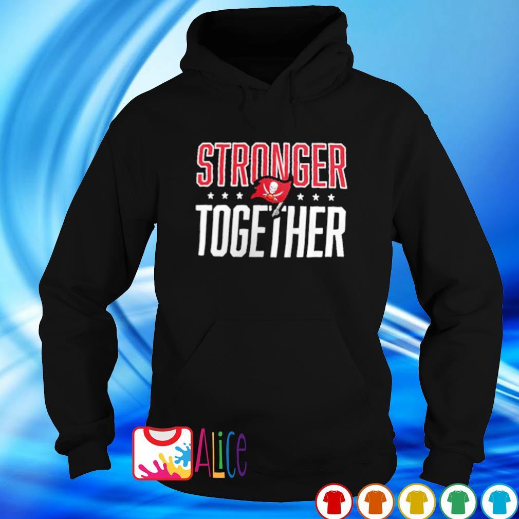 Buccaneers NFC champions stronger together s hoodie