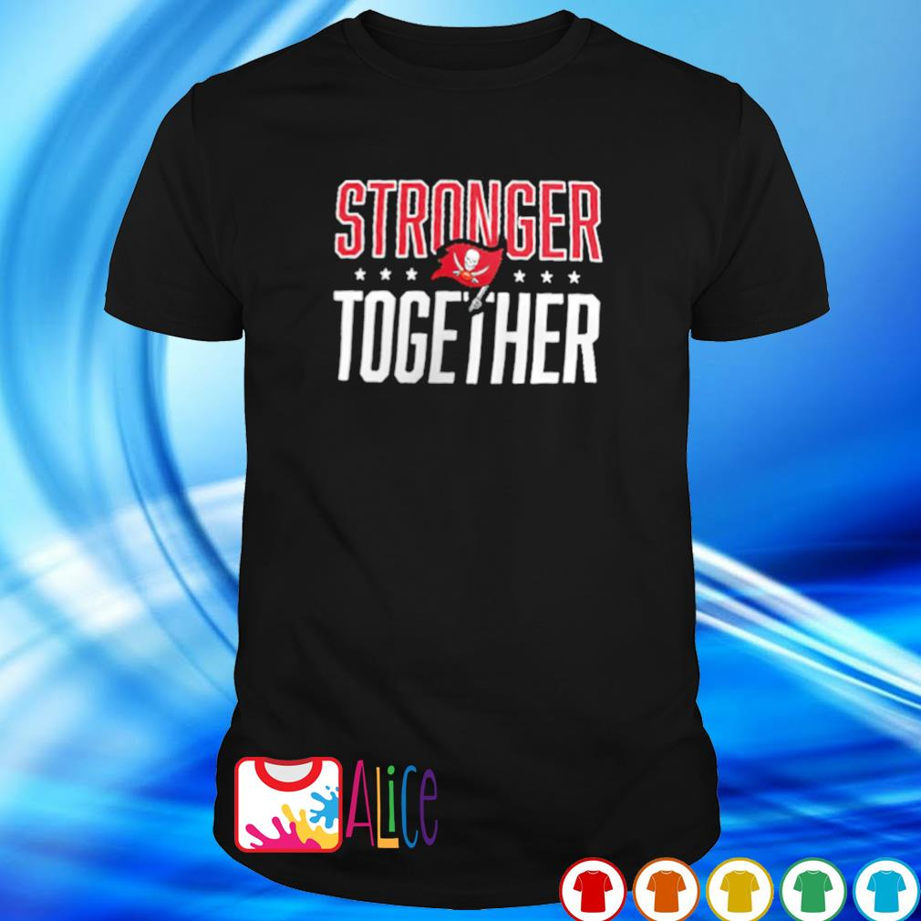 Buccaneers NFC champions stronger together shirt
