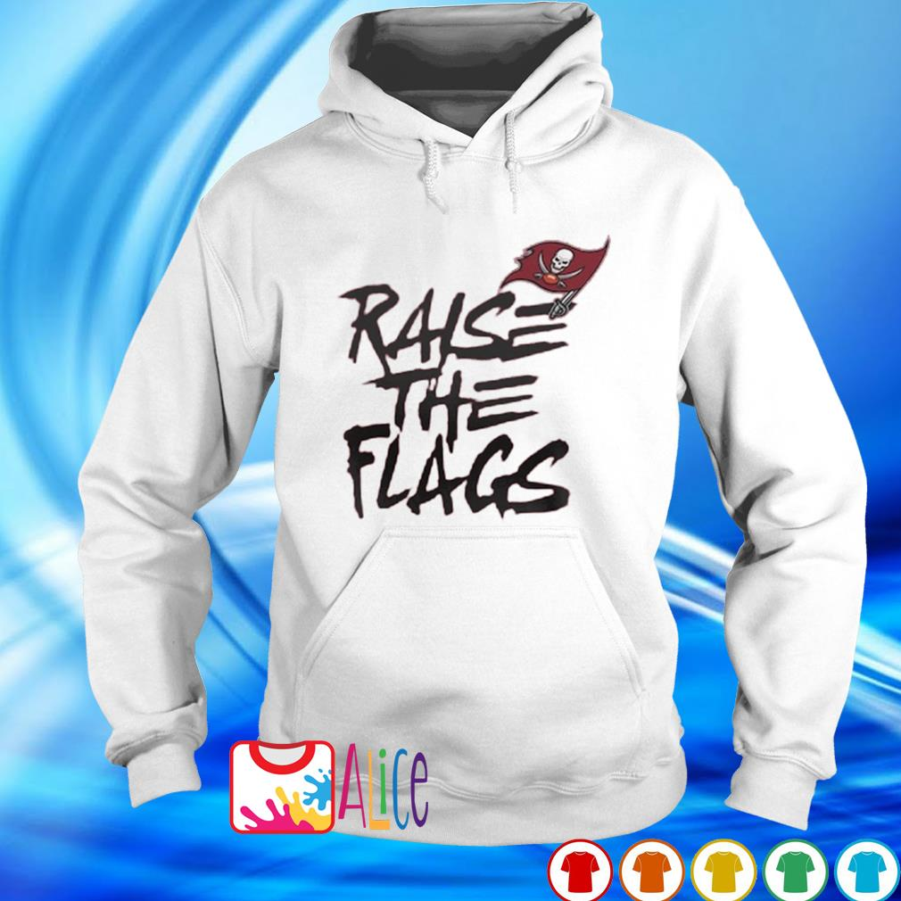 Buccaneers NFC championship raise the flags s hoodie