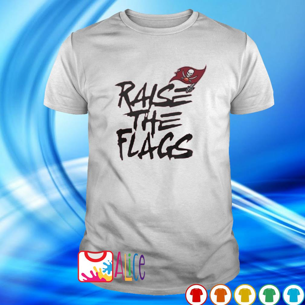 Buccaneers NFC championship raise the flags shirt