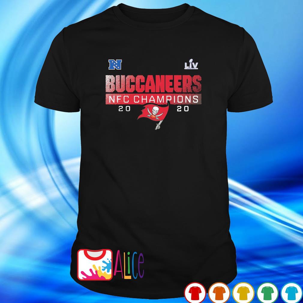 Buccanners NFC champions 2020 Super Bowl LIV shirt