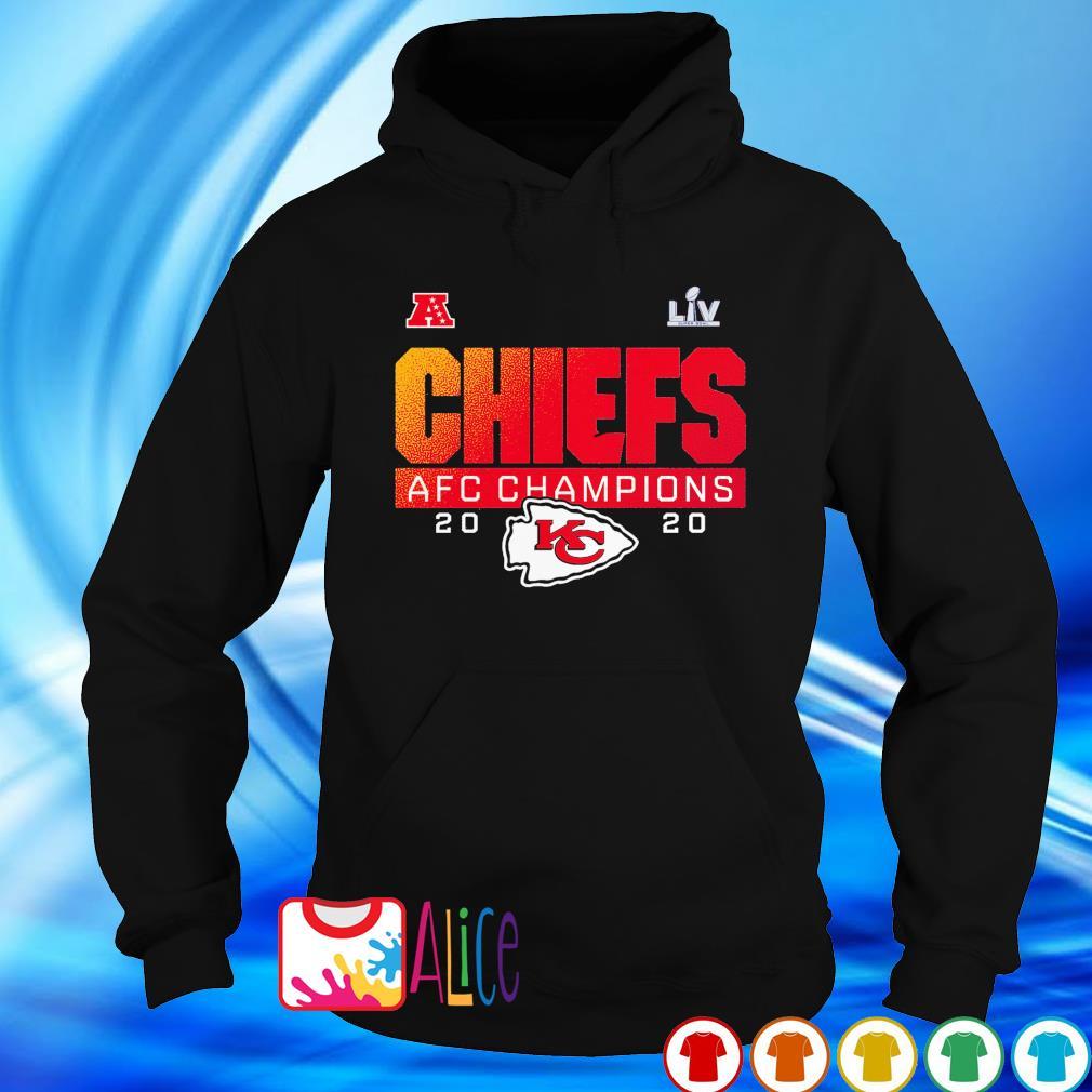 Chiefs AFC champions 2020 Super Bowl LIV s hoodie