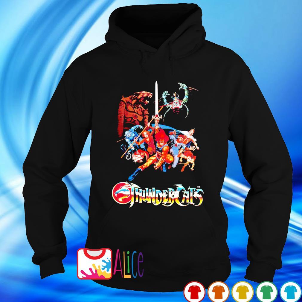 Herrenmode Thundercats Animated series Kids TV 80s s hoodie