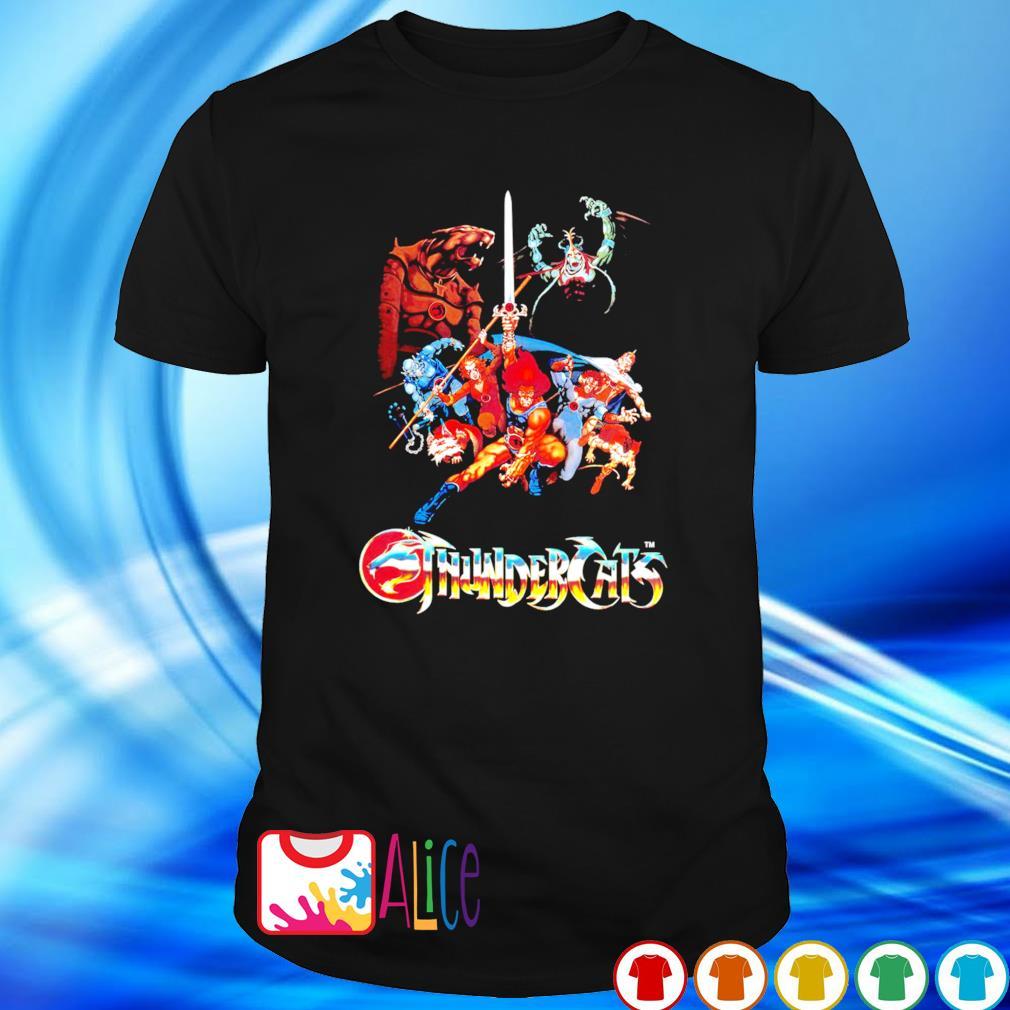 Herrenmode Thundercats Animated series Kids TV 80s shirt