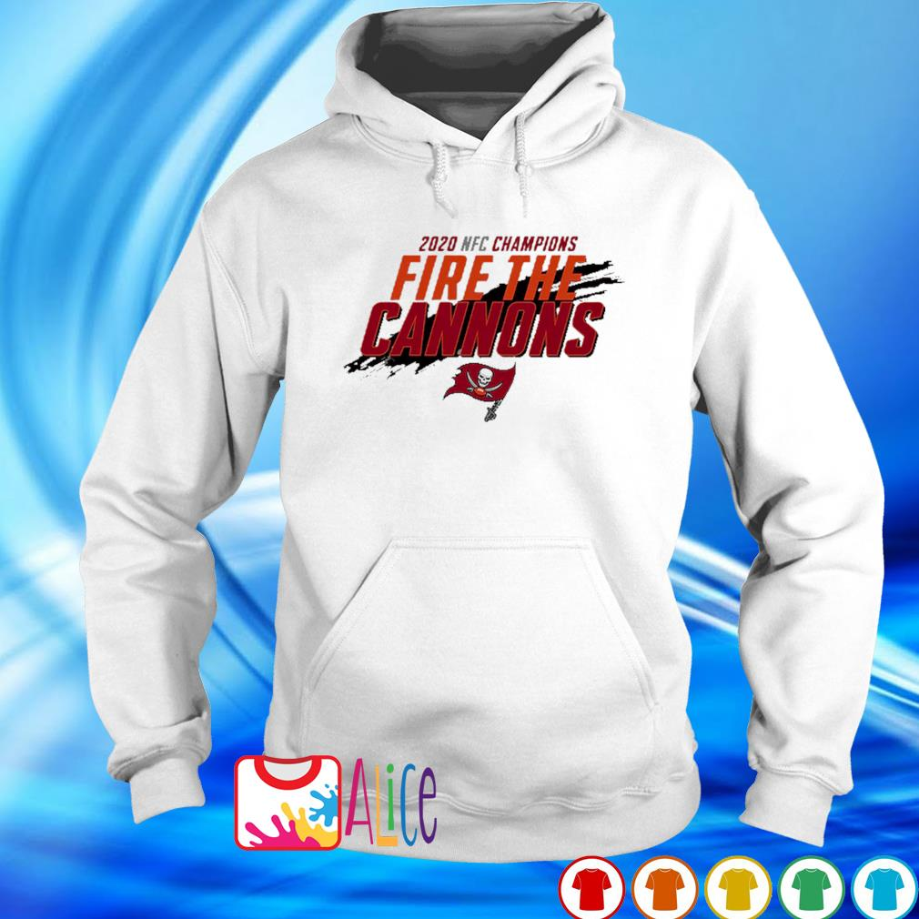 NFC champions 2020 fire the cannons Buccaneers s hoodie