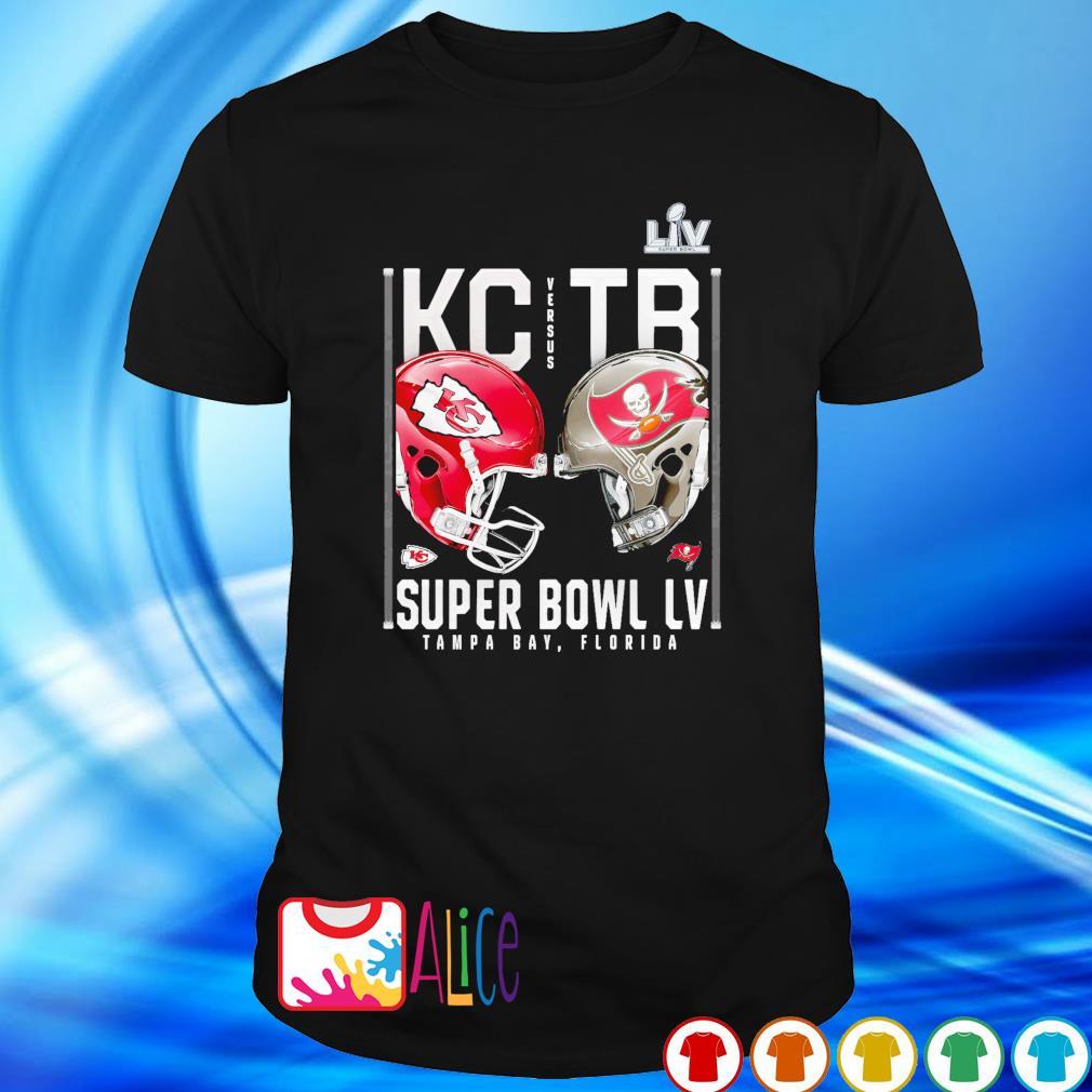 Super Bowl Kansas City Chiefs vs Tampa Bay Buccaneers 7 February 2021 shirt